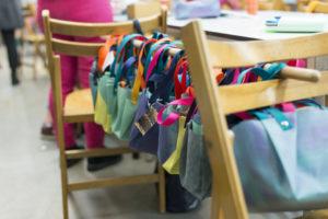 Workshop tasjes maken voor Lesbos | Mijn Buuf x Taal aan Zee